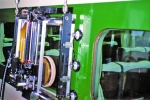 新幹線・在来線車両向け窓研磨ロボット